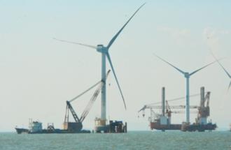 沙埔镇助力福清兴化湾海上风电样机试验场建设