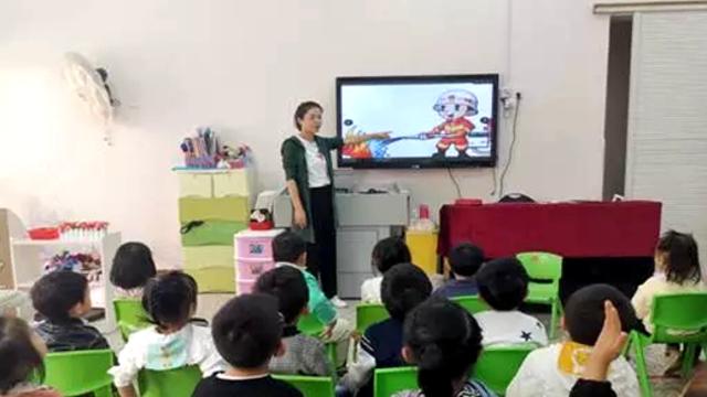 """福清龙田镇开展""""119""""消防宣传月系列活动"""
