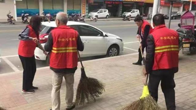 福清市龙田镇开展垃圾分类宣传活动